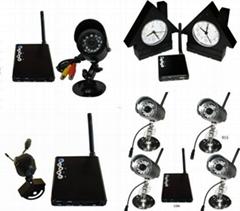 無線監控器(無線攝像頭,無線電腦USB接收器) 遠程,報警