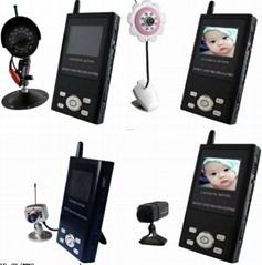 无线监控器(针孔/红外无线摄像头,无线可视可录接收器