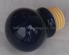 Ceramics cap synthetic cork wine bottle stopper WCELO4-1