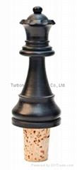 Artistic synthetic cork wine bottle stopper TBART20
