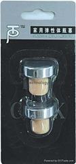 Blister packed synthetic cork wine bottle stopper TBG4