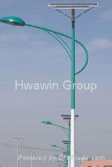 120W Solar LED Street Lamp