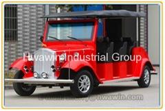 8 seats electric classic car