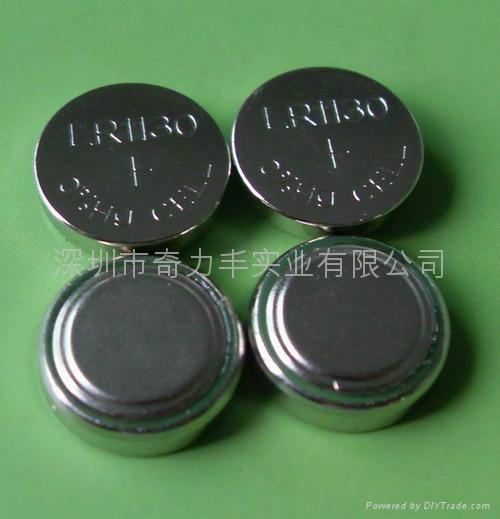 LR1130   0%Hg  1.5V环保纽扣电池 1
