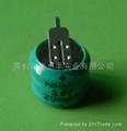 20mAh    3.6V镍氢纽扣电池 1