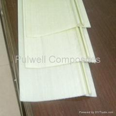 Pultruded fiberglass rods, bars, strips, FRP profiles