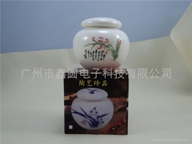 小鼓形檀香 沉香香料罐 2