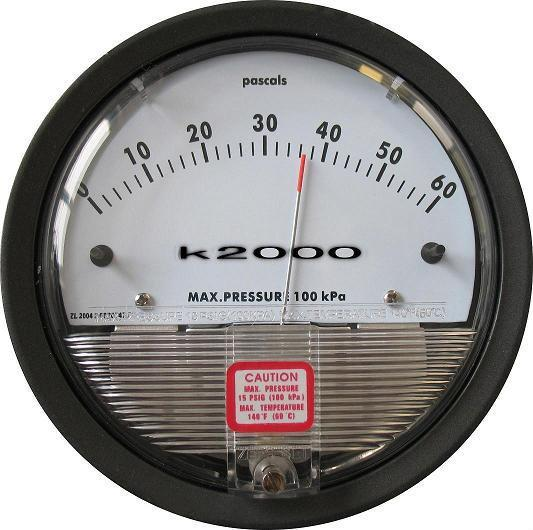 指針式微差壓表K2000型 1