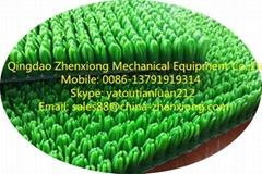 Hot selling artificial grass turf carpet,Grass mat making machine