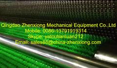 high output plastic artificial grass machine