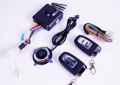 PKE One button start motorcycle alarm system