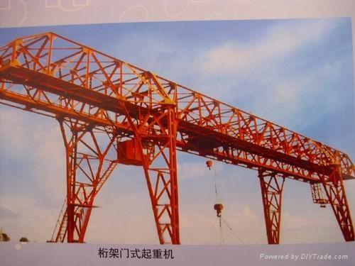 MH型电动葫芦门式起重机 1