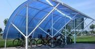 天津自行车雨棚