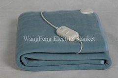 fleece single electric warmer blanket