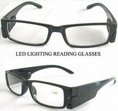 帶LED燈老花眼鏡