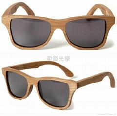 木头框竹框太阳镜