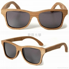 Wood frame Sunglasses, b