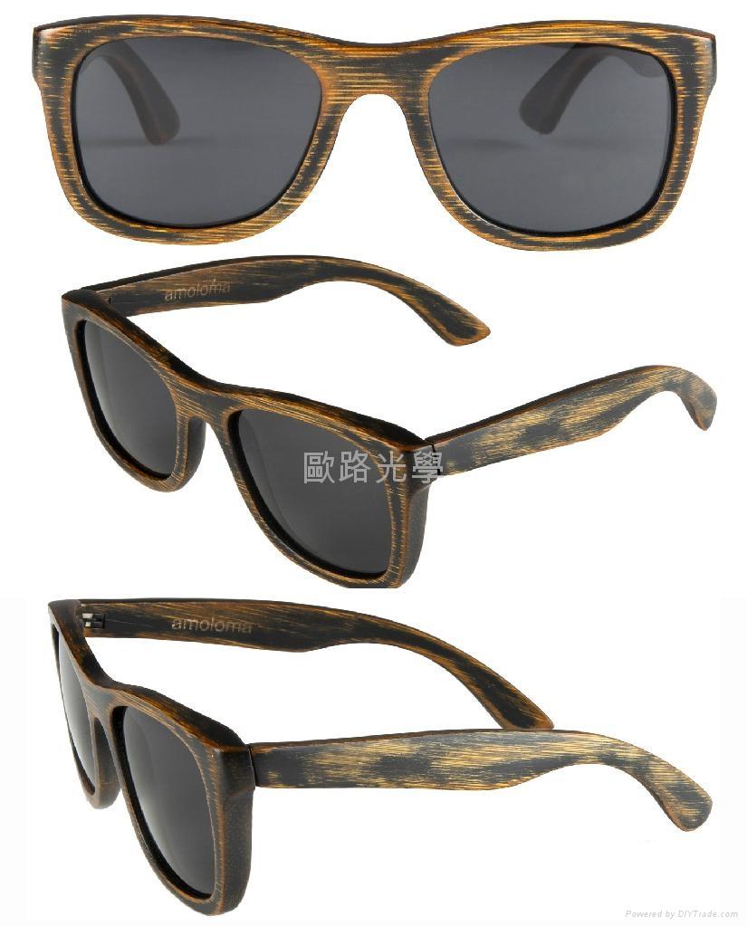 木頭框竹框太陽鏡 3