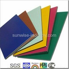 Exw price for PE aluminum composite panel aluminium composite material