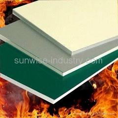 Fireproof Aluminum Composite Panel According to GB/T 17748-1999 standard