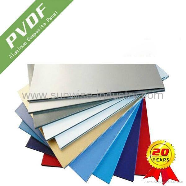 Aluminum Composite Panel Manufacturers : Mm hot sale acp aluminum composite panel with pvdf