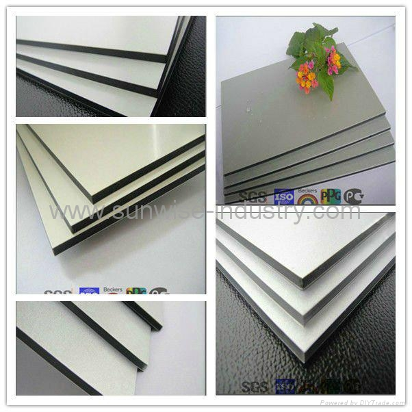 Strong waterproof nano aluocobond aluminium composite for Aluminium decoration