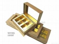 Rectangular  hinge box w
