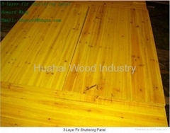 3 Ply Yellow Shuttering Panel