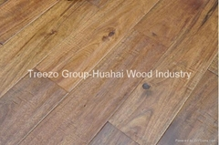 Prefinished Multilayer Engineered Wood Flooring