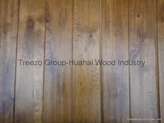 Handscraped Birch Engineered Wood