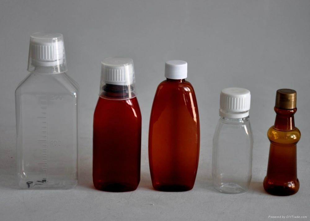 塑料药水口服液瓶图片