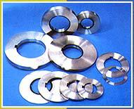 Rotary shear knives and spacer for fimi steel slitting machines