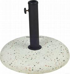 Stone meters concrete umbrella base