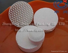Ceramic honeycomb as a filter