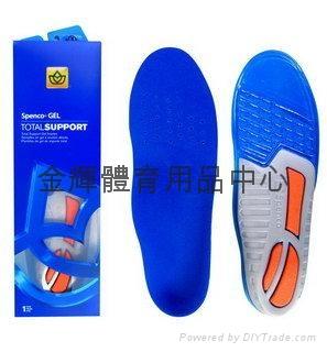 美国 Spenco Gel Total Support 避震鞋垫(合登山.运动鞋 1