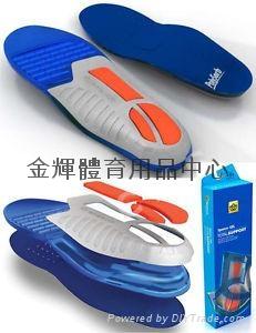 美国 Spenco Gel Total Support 避震鞋垫(合登山.运动鞋 2