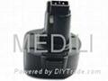 For  Black&Decker 9.6v tool battery