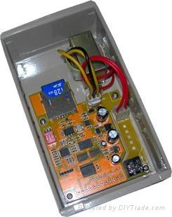 普及版SD卡1024x4電源同步LED控制器 1