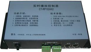 川田RP1024X2實時播放控制器  1