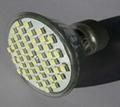 LED射燈燈罩燈蓋粘接UV紫外光固化膠 1