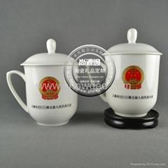上海高档骨瓷会议杯