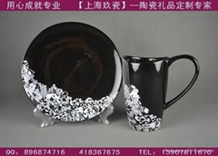 上海骨瓷咖啡杯碟