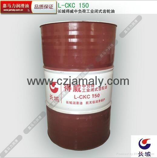 長城德威150號工業閉式齒輪油 1