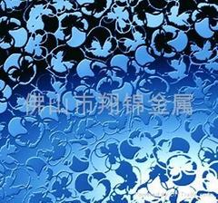 佛山翔錦供應不鏽鋼鏡面蝕刻板