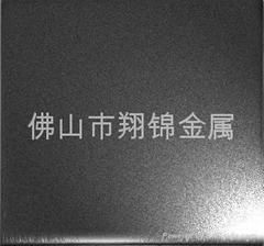 佛山黑色噴砂不鏽鋼幕板牆裝飾板