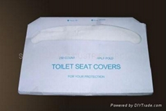 Disposible toilet seat covers