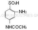 2-Amino-4-Acetamido-Benzene Sulfonic Acid