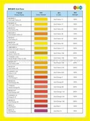 酸性嫩黃 2G  (酸性黃 17)