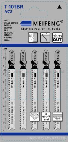 曲线锯条 T101系列 3