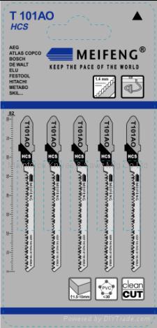 曲线锯条 T101系列 4